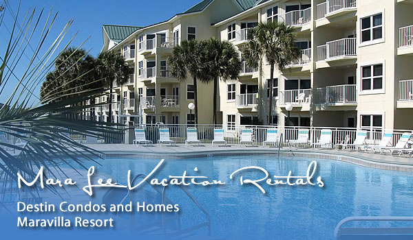 Maravilla resort condos homes destin florida rentals - Destin florida 4 bedroom condo rentals ...